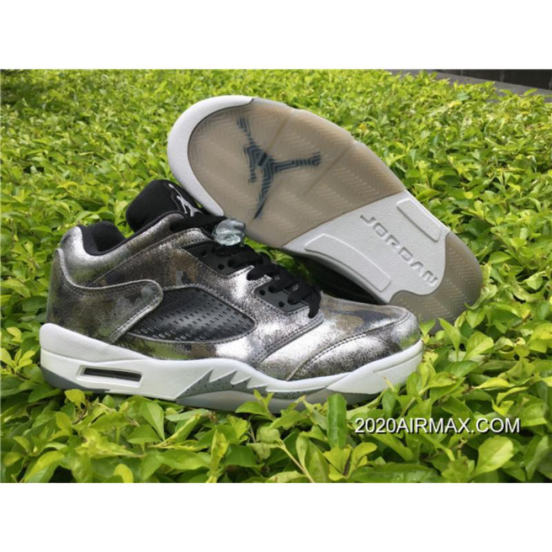 big sale 7202d ea7be 2020 Discount Men Basketball Shoes Air Jordan V Retro Low SKU 4199-303 ...