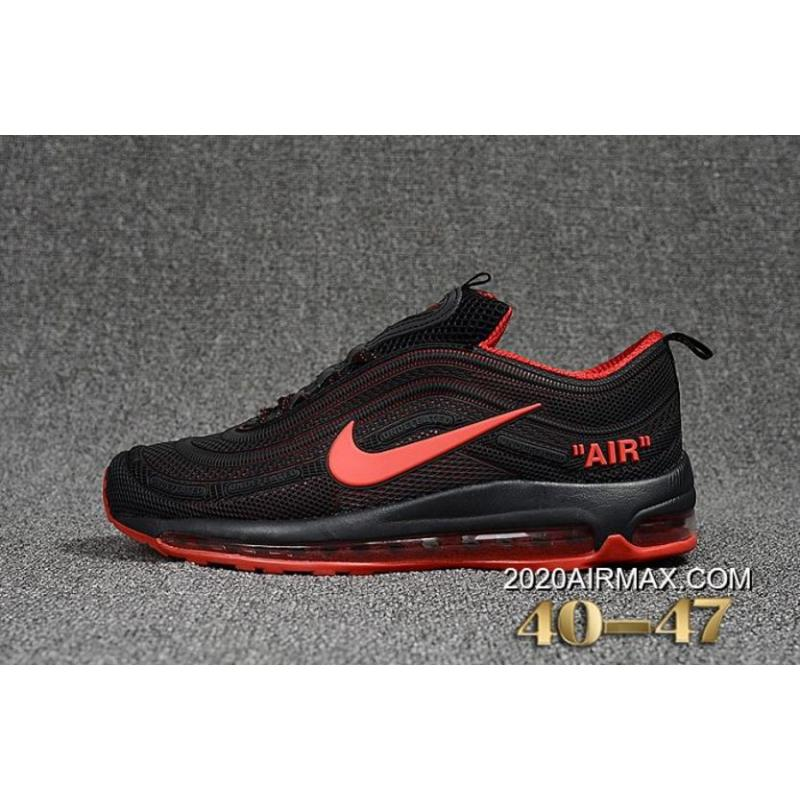 new product 2e6c4 1c25a 2020 Discount Men Nike Air Max 97 Running Shoes KPU SKU:86342-245